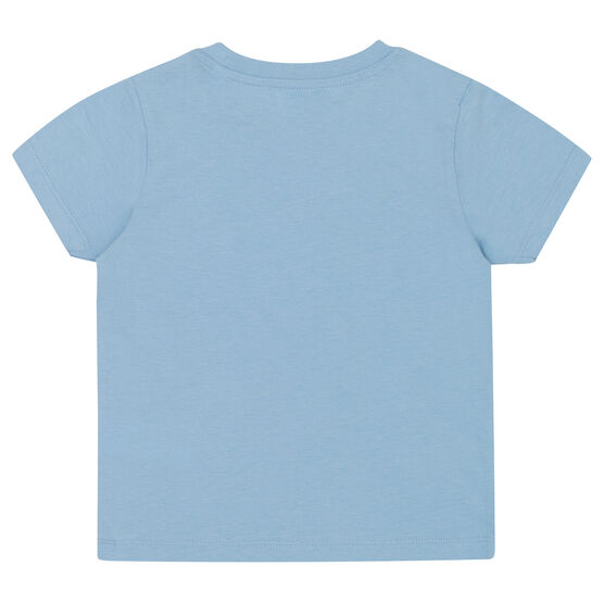 Pale blue Limited Edition kids' t-shirt - back