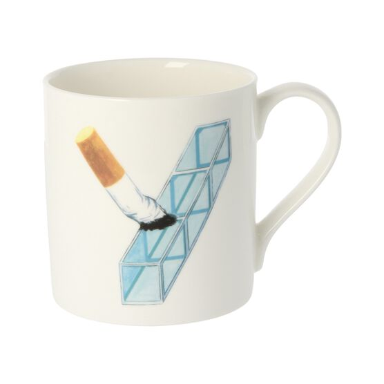 Alphabet of art mug - Y