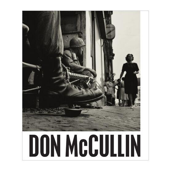 Don McCullin exhibition book (paperback)