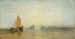 Turner: The Chain Pier, Brighton