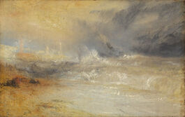Turner: Waves Breaking on a Lee Shore at Margate