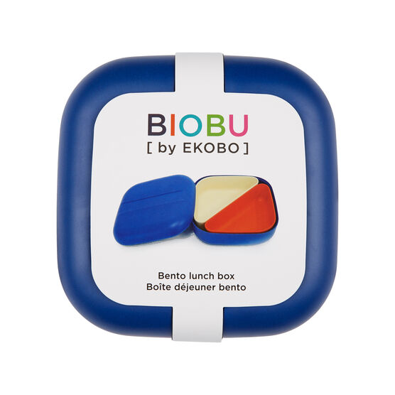 Bamboo blue bento lunch box