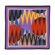 1989 prints silk neck scarf