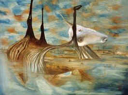 Sidney Nolan: Carcase in Swamp