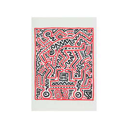 Keith Haring Fun Gallery notebook