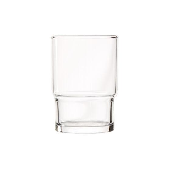 Toyo-Sasaki stackable 200ml glass tumblers