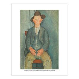 Modigliani The Little Peasant (mini print)