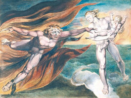 William Blake: The Good and Evil Angels
