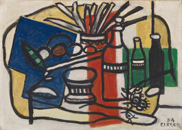 Fernand Léger: Three Bottles