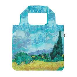Van Gogh A Wheatfield, with Cypresses bag