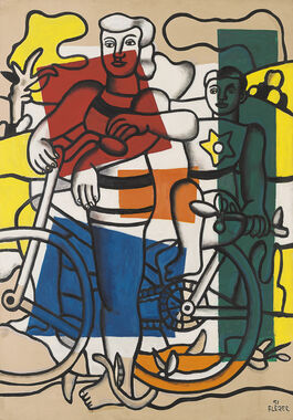 Fernand Léger: The Two Cyclists, Mother and Child