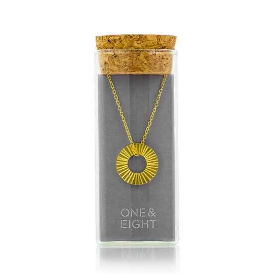 Gold Surfside necklace