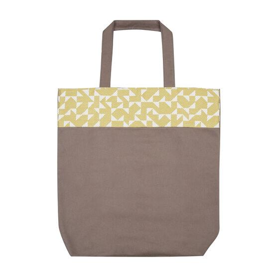 Anni Albers yellow Intaglio tote bag