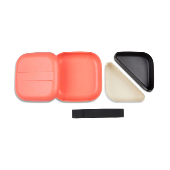 Bamboo coral bento lunch box
