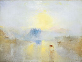 Turner: Norham Castle Sunrise