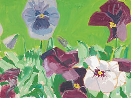 Alex Katz: Pansies