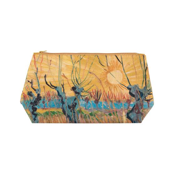 Van Gogh Pollarded Willows, Arles wash bag