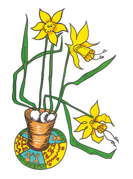 Edwina Sandys: Daffodils