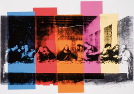Andy Warhol: Detail of The Last Supper