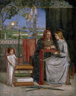 Rossetti: The Girlhood of Virgin Mary