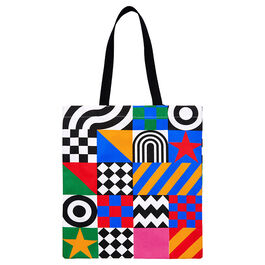Peter Blake Dazzle tote bag