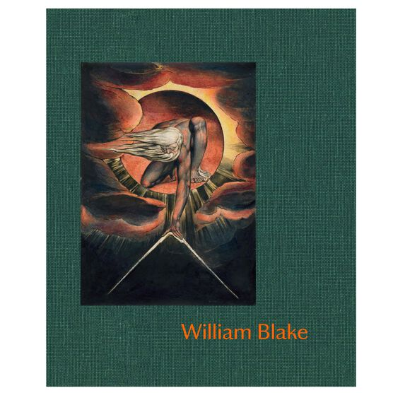 William Blake exhibition book (hardback)