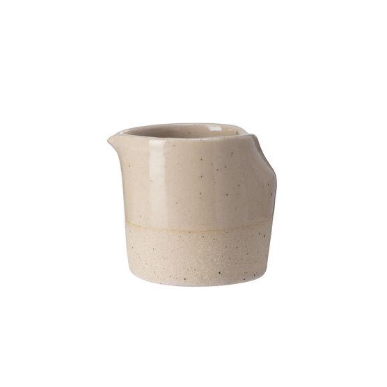 Natural ceramic milk jug