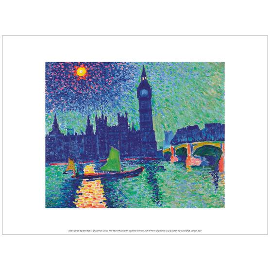 Derain Big Ben (exhibition print)
