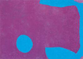 Patrick Heron: Dark Purple and Ceruleum