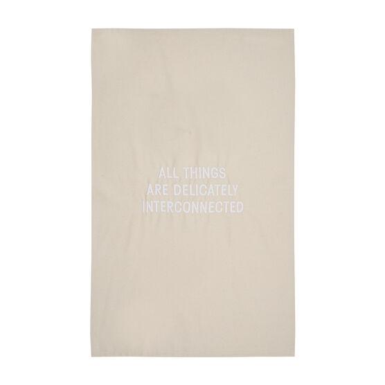 Jenny Holzer All Things tea towel