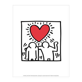 Keith Haring: Be Mine mini print