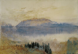 Turner: Lake Geneva, with the Dent d'Oche