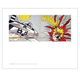 Lichtenstein Whaam! (mini print)
