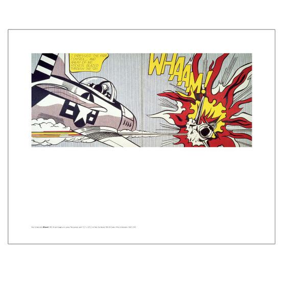 Lichtenstein Whaam! (mini print)