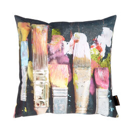 Ella Doran wet paint cushion cover