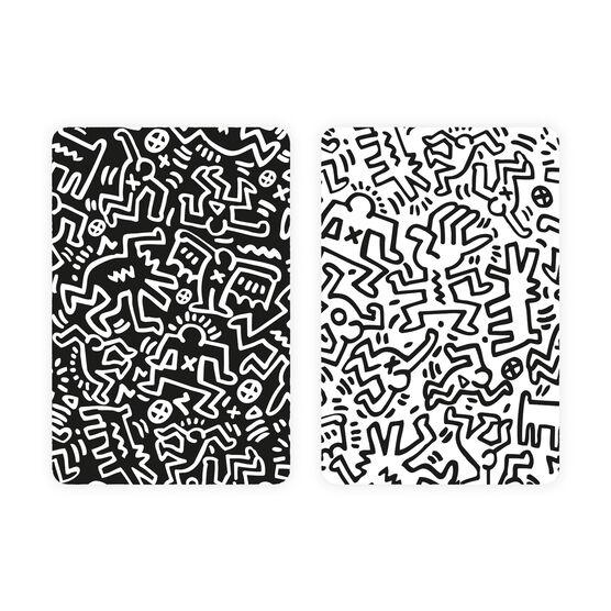 Keith Haring playing card set