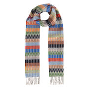 Bright pattern scarf