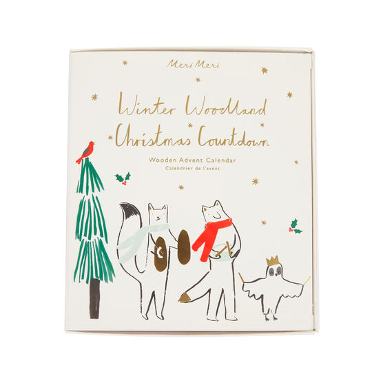 Winter Woodland advent calendar