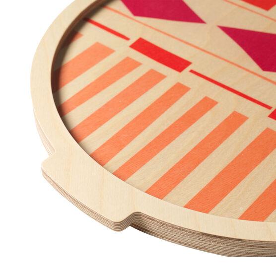 Coyocan medium round tray
