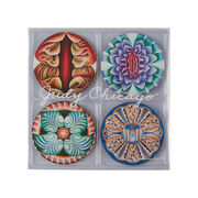 Judy Chicago The Dinner Party coaster set