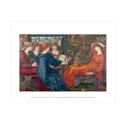 Edward Burne-Jones: Laus Veneris mini print