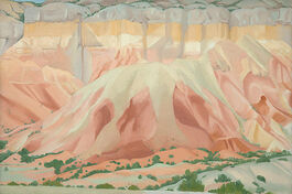 O'Keeffe: Red and Yellow Cliffs