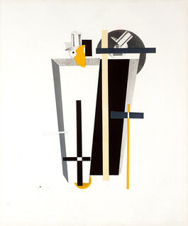 Lissitzky: 9. Gravediggers, from Figurines