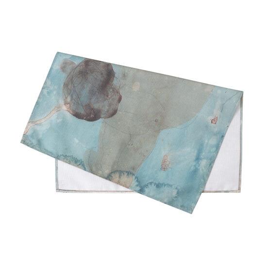 Auguste Rodin: Femme nue tea towel folded
