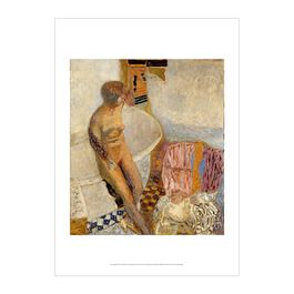 Pierre Bonnard: Nude at Her Bath poster