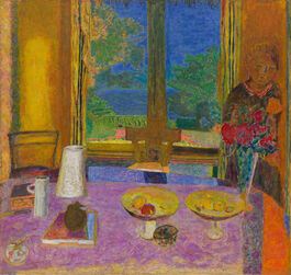 Pierre Bonnard: Large Dining Room Overlooking the Garden