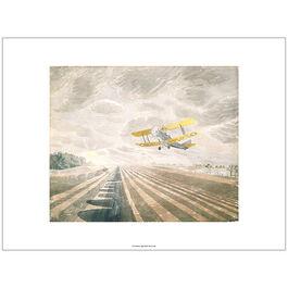Ravilious Tiger Moth (unframed print)