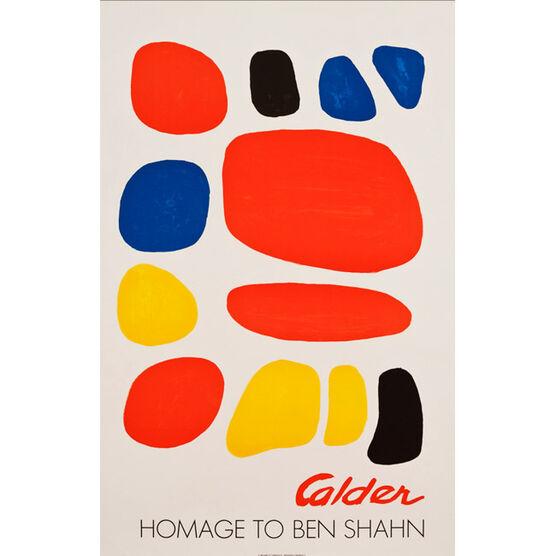 Atelier Mourlot Calder Homage to Ben Shahn, 1975