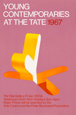 Young Contemporaries at the Tate exhibition poster