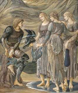 Edward Burne-Jones: Perseus and the Sea Nymphs (The Arming of Perseus)